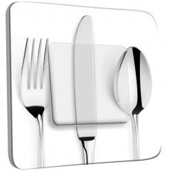 Interrupteur Décoré Simple Va et Vient - Cuisine Couverts design