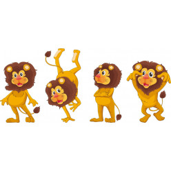 kit stickers 4 lions