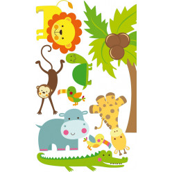 kit stickers animaux