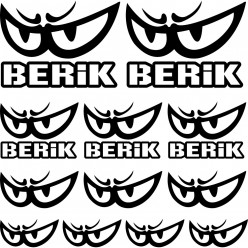 Kit stickers berik