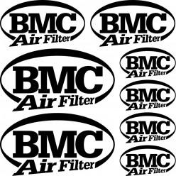 Kit stickers bmc