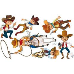 kit stickers cowboys