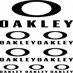 Kit stickers oakley