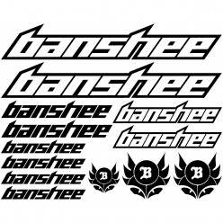 Kit stickers vélo banshee bikes
