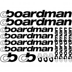 Kit stickers vélo boardman bikes
