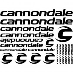 Kit stickers vélo cannondale bikes