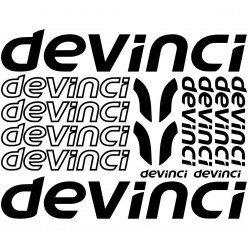 Kit stickers vélo devinci bikes