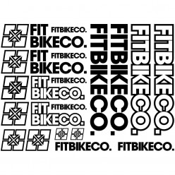 Kit stickers vélo fitbikeco