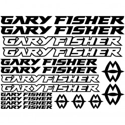 Kit stickers vélo gary fisher bikes