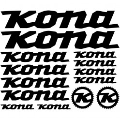 Kit stickers vélo kona bikes