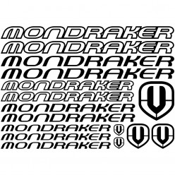 Kit stickers vélo mondraker bikes