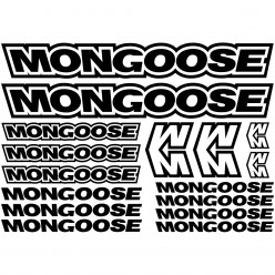 Kit stickers vélo mongoose bikes