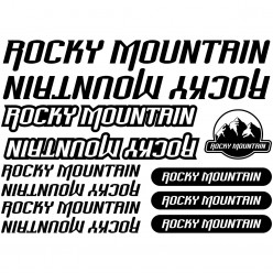 Kit stickers vélo rocky mountain bikes