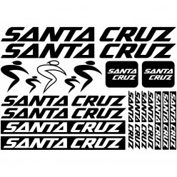 Kit stickers vélo santa cruz bikes