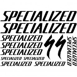 Kit stickers vélo specialized bikes