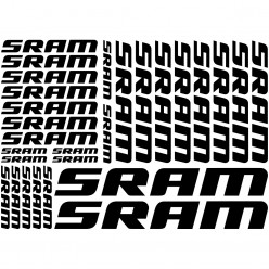 Kit stickers vélo sram bikes