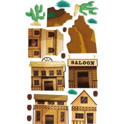 kit Stickers western