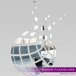 Miroir Plexiglass Acrylique - Abstrait 1