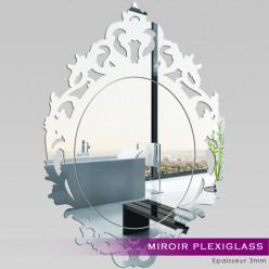 Miroir Plexiglass Acrylique - Baroque 1