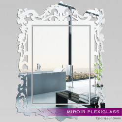 Miroir Plexiglass Acrylique Baroque