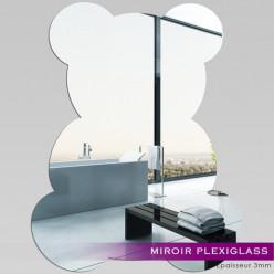 Miroir Plexiglass Acrylique - Bébé Ourson