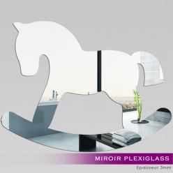 Miroir Plexiglass Acrylique - Cheval à bascule