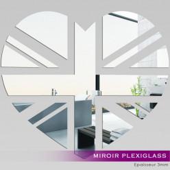 Miroir Plexiglass Acrylique - Coeur London