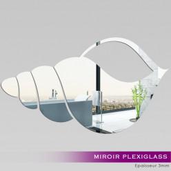 Miroir Plexiglass Acrylique - Coquillage