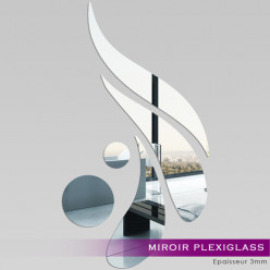 Miroir Plexiglass Acrylique -  Design 4