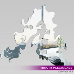Miroir Plexiglass Acrylique - Dragon