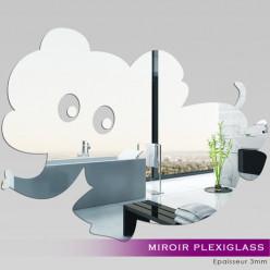 Miroir Plexiglass Acrylique Éléphant
