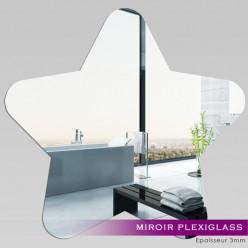 Miroir Plexiglass Acrylique - Etoile 2