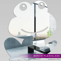 Miroir Plexiglass Acrylique - Grenouille