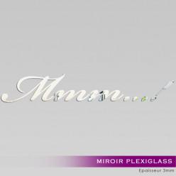 Miroir Plexiglass Acrylique - Mmm...