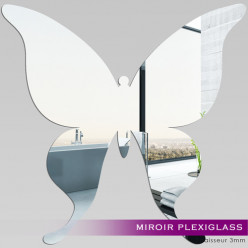 Miroir Plexiglass Acrylique - Papillon 2