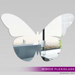 Miroir Plexiglass Acrylique - Papillon 4