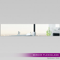 Miroir Plexiglass Acrylique - Rectange Horizontale