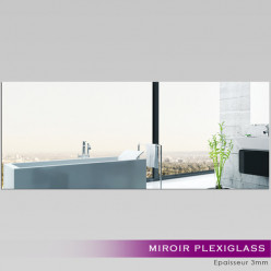 Miroir Plexiglass Acrylique - Rectange Maxi 1
