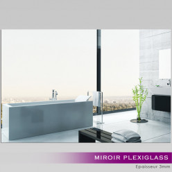 Miroir Plexiglass Acrylique - Rectange Maxi