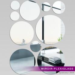 Miroir Plexiglass Acrylique - Ronds MiniMaxi