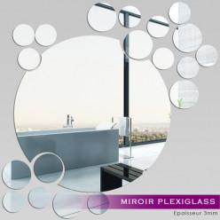 Miroir Plexiglass Acrylique - Ronds MiniMaxi 2