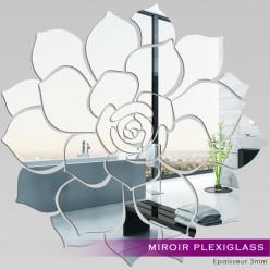 Miroir Plexiglass Acrylique - Rose