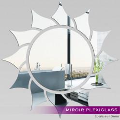 Miroir Plexiglass Acrylique - Soleil 2
