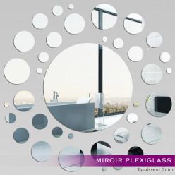 Miroir Plexiglass Acrylique - Spirale 2