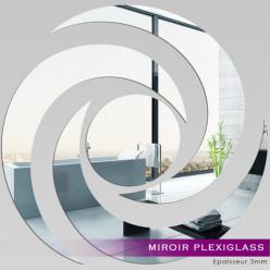 Miroir Plexiglass Acrylique - Spirale 5