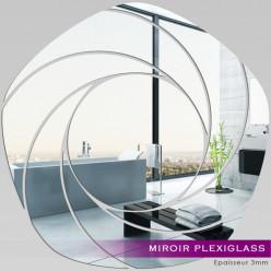 Miroir Plexiglass Acrylique - Spirales Design 4