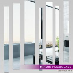 Miroir Plexiglass Acrylique - Verticales