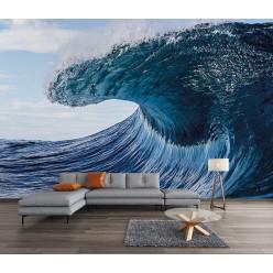 Papier peint vague géante