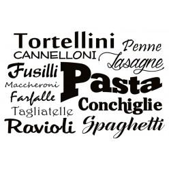 Poster - Affiche cuisine pâtes