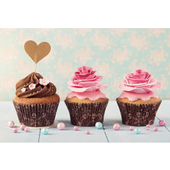 Poster - Affiche cupcakes